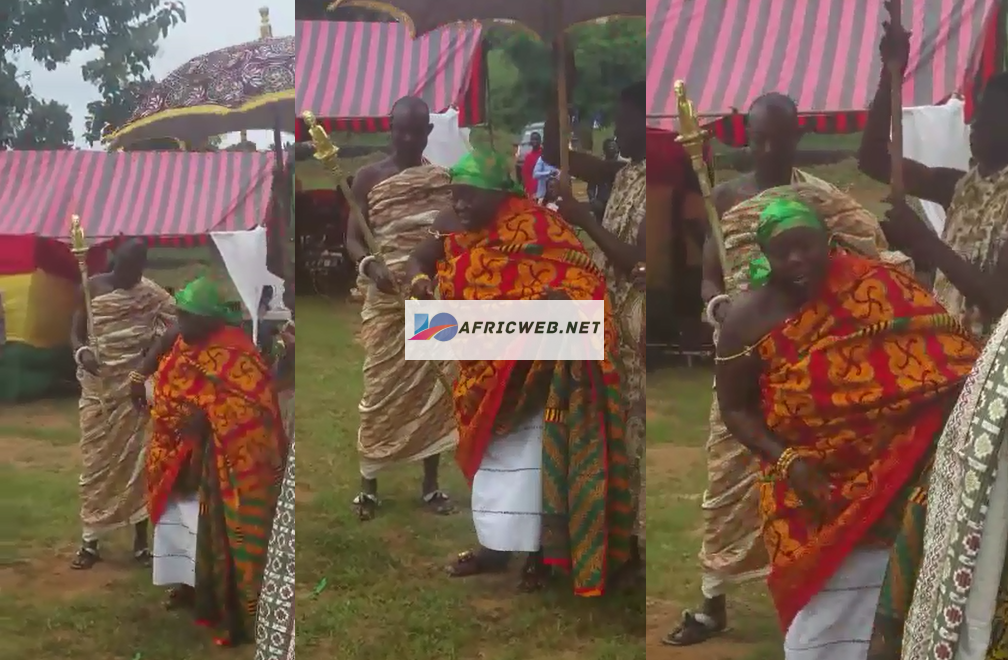 Queen Mother Heavily Jams to Medikal Song